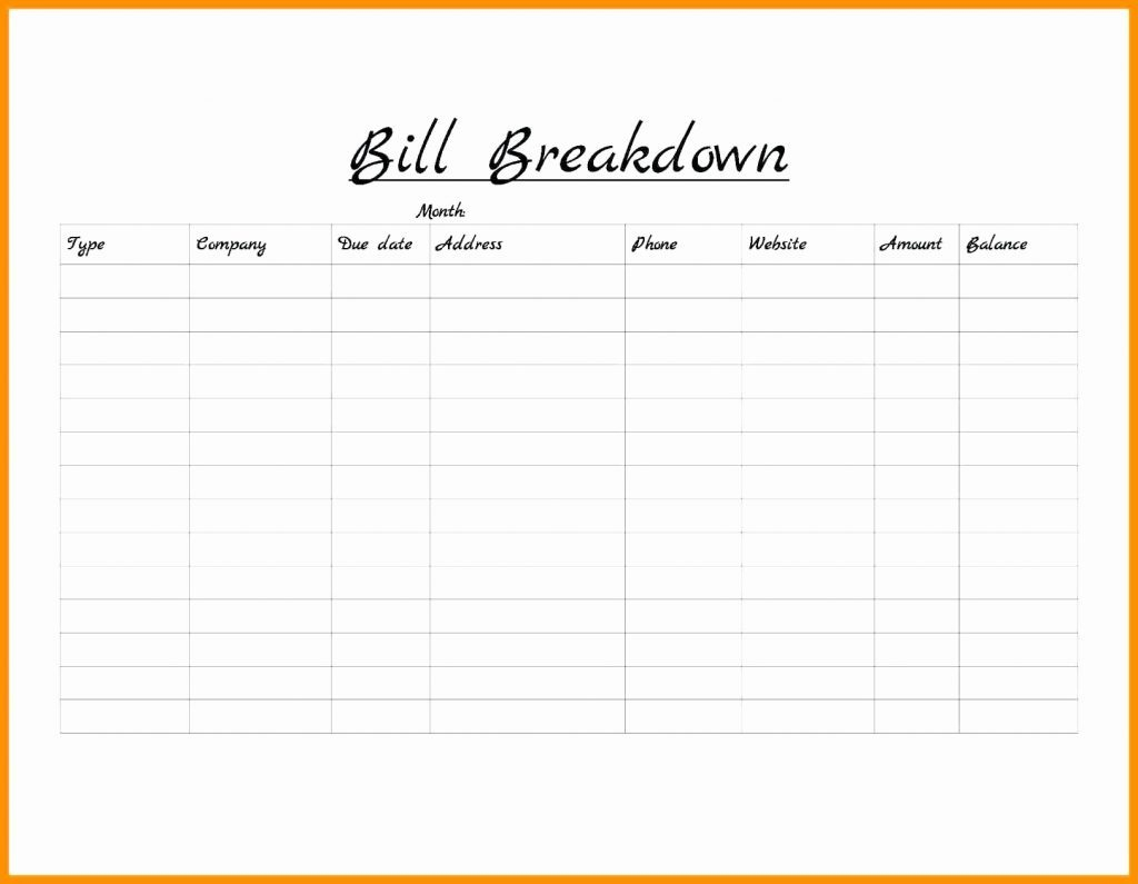 Weekly Bill Organizer Template Excel Monthly Download Calendar Of in Free Bill Organizer Template Downloads