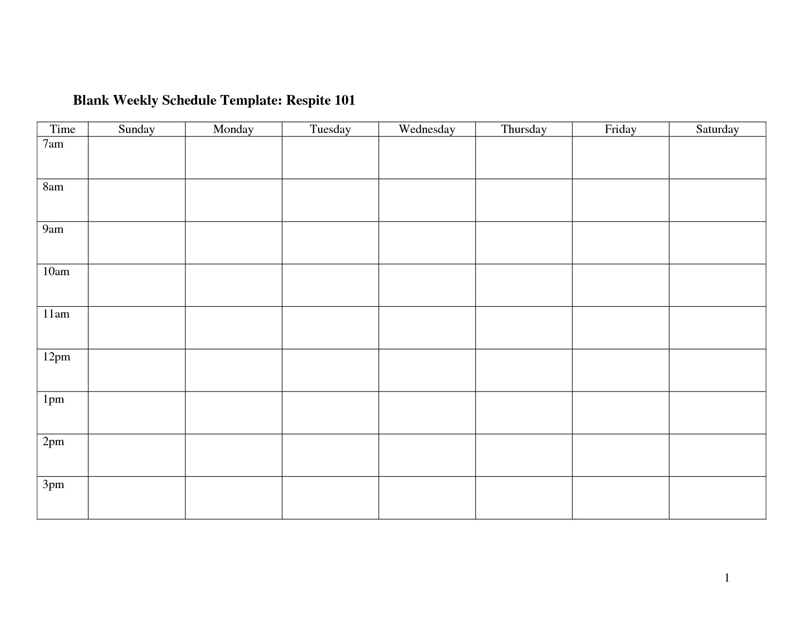 Weekly Schedule Monday Through Friday | Template Calendar Printable inside Monday Through Friday Blank Schedule Print Out