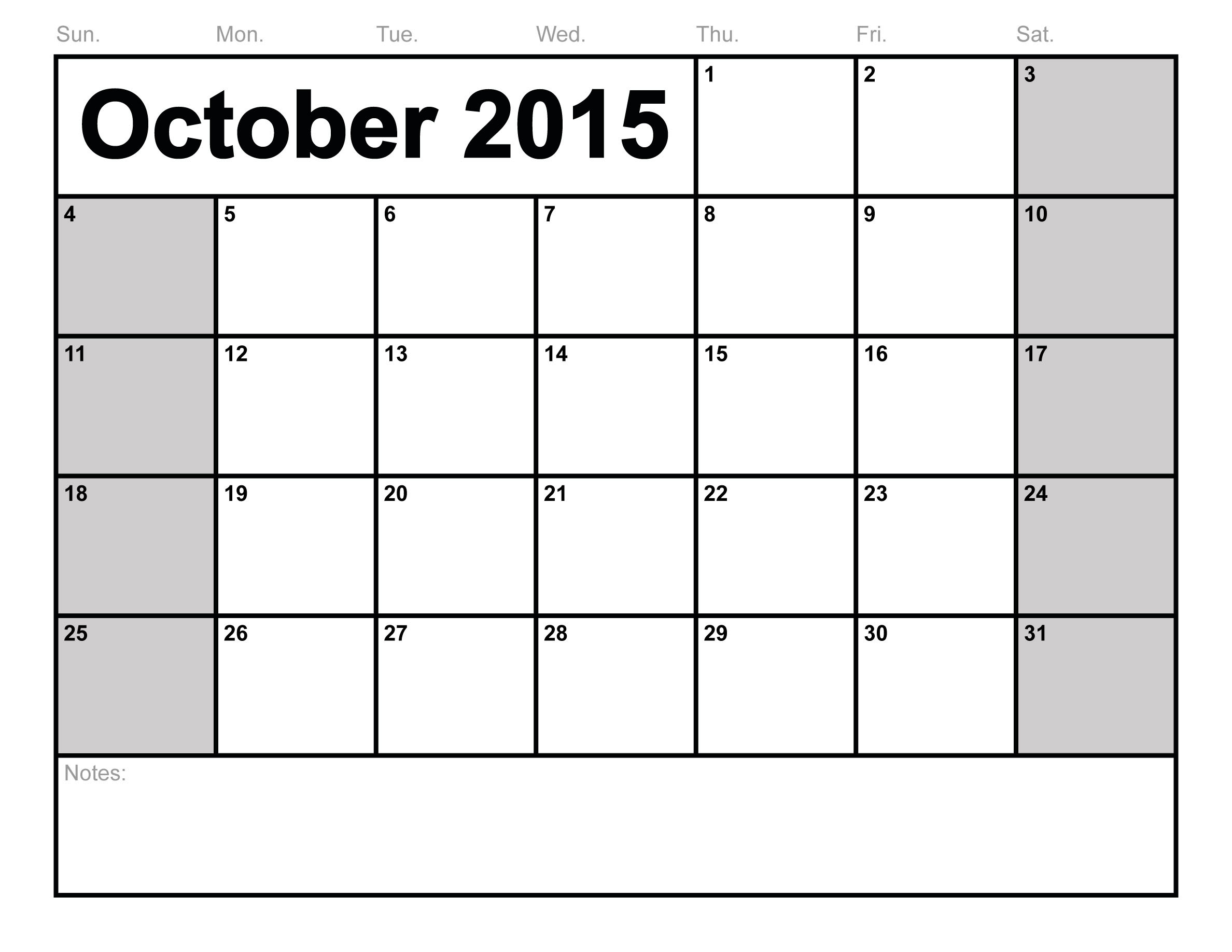 Word-Blank-Printable Calendar Templates pertaining to Printable Blank Calendar October November December