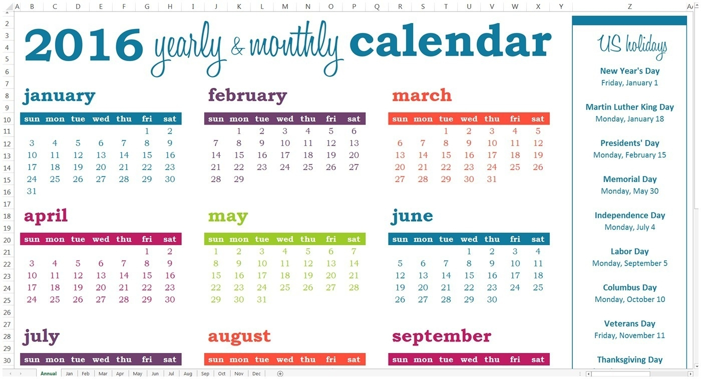 Year Event Calendar Template | Igotlockedout regarding Calendar Of Events Template Free