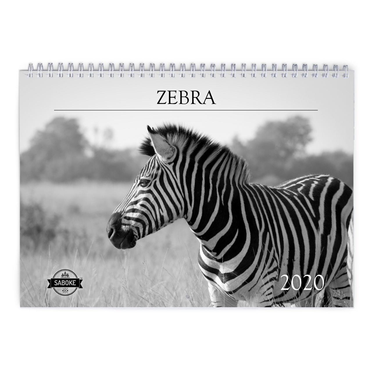 Zebra 2020 Calendar with regard to 2020 Calendar 8.5 X 11