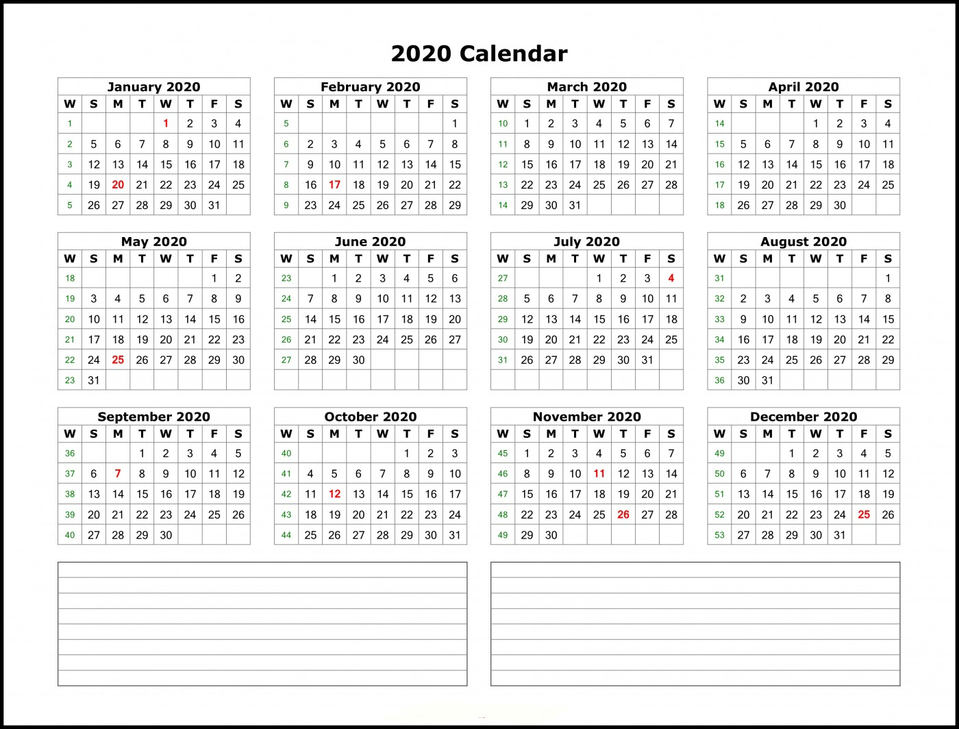 010 Ic Weekly Calendar With Us Holidays Template Ideas Free with Vertex Calendars 2020 Printable