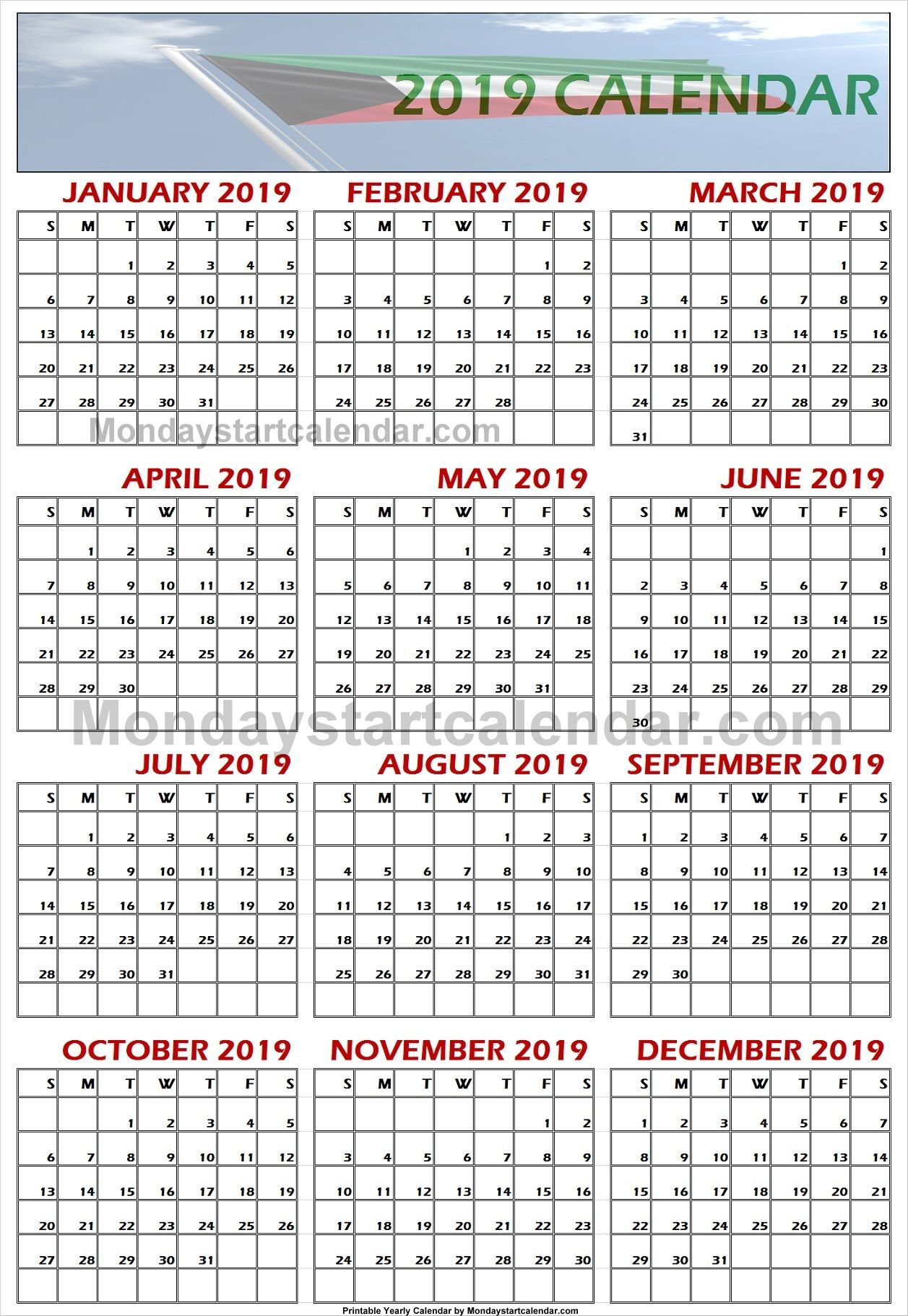 2019 Kuwait Calendar | School Holiday Calendar, Holiday intended for Kuwait 2020 Calendar