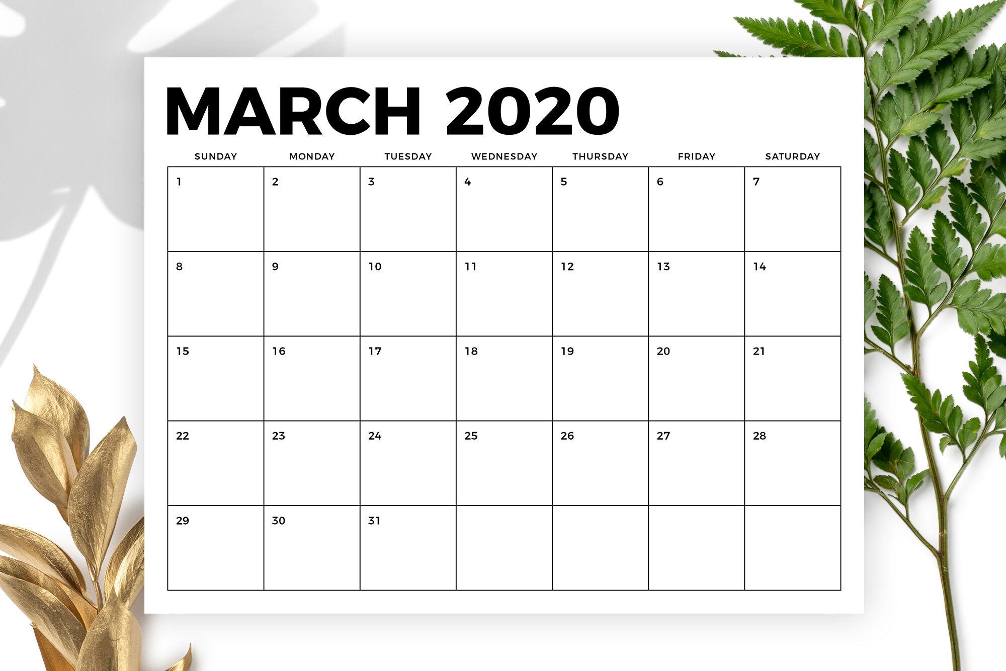 8.5 X 11 Inch Bold 2020 Calendarrunning With Foxes regarding 8.5 X 11 Calendar Template