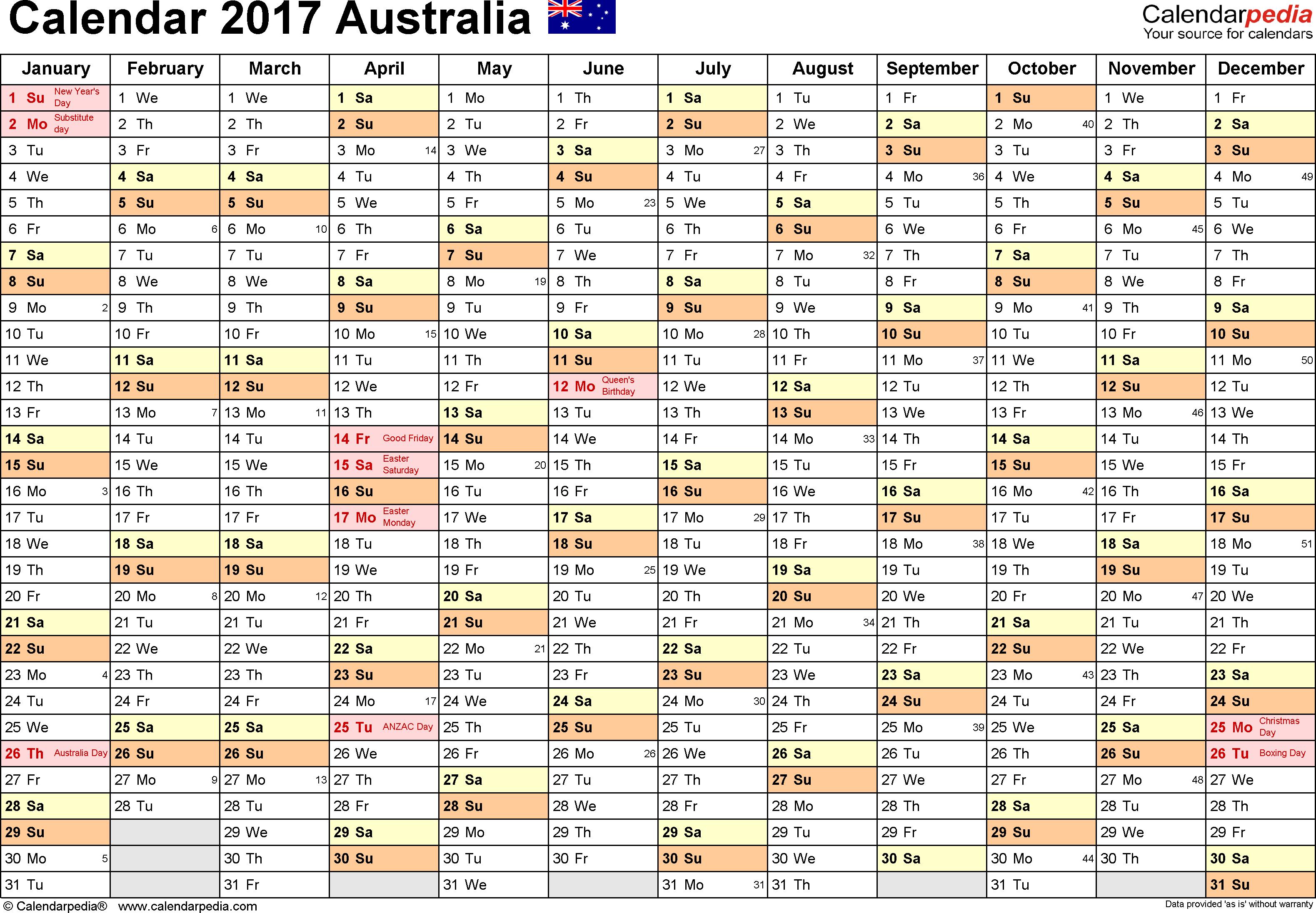 A3 School Calendar - Wpa.wpart.co pertaining to 2020 Qld School Calendar Printable