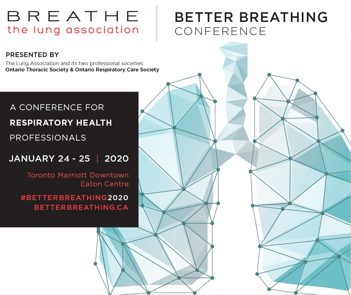 Better Breathing 2020 Conference And Pre-Conference regarding Mcgreer Criteria 2020