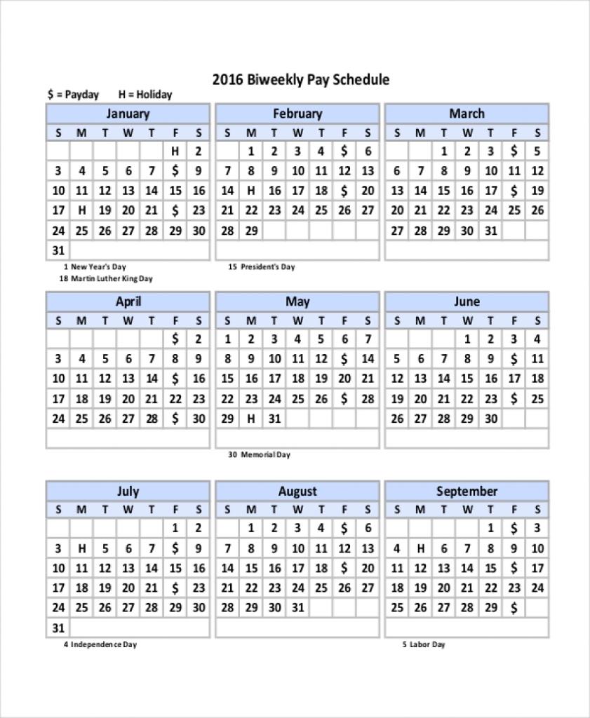 Biweekly Payroll Calendar 2020 - Wpa.wpart.co throughout Federal Pay Period Calendar 2020 Printable