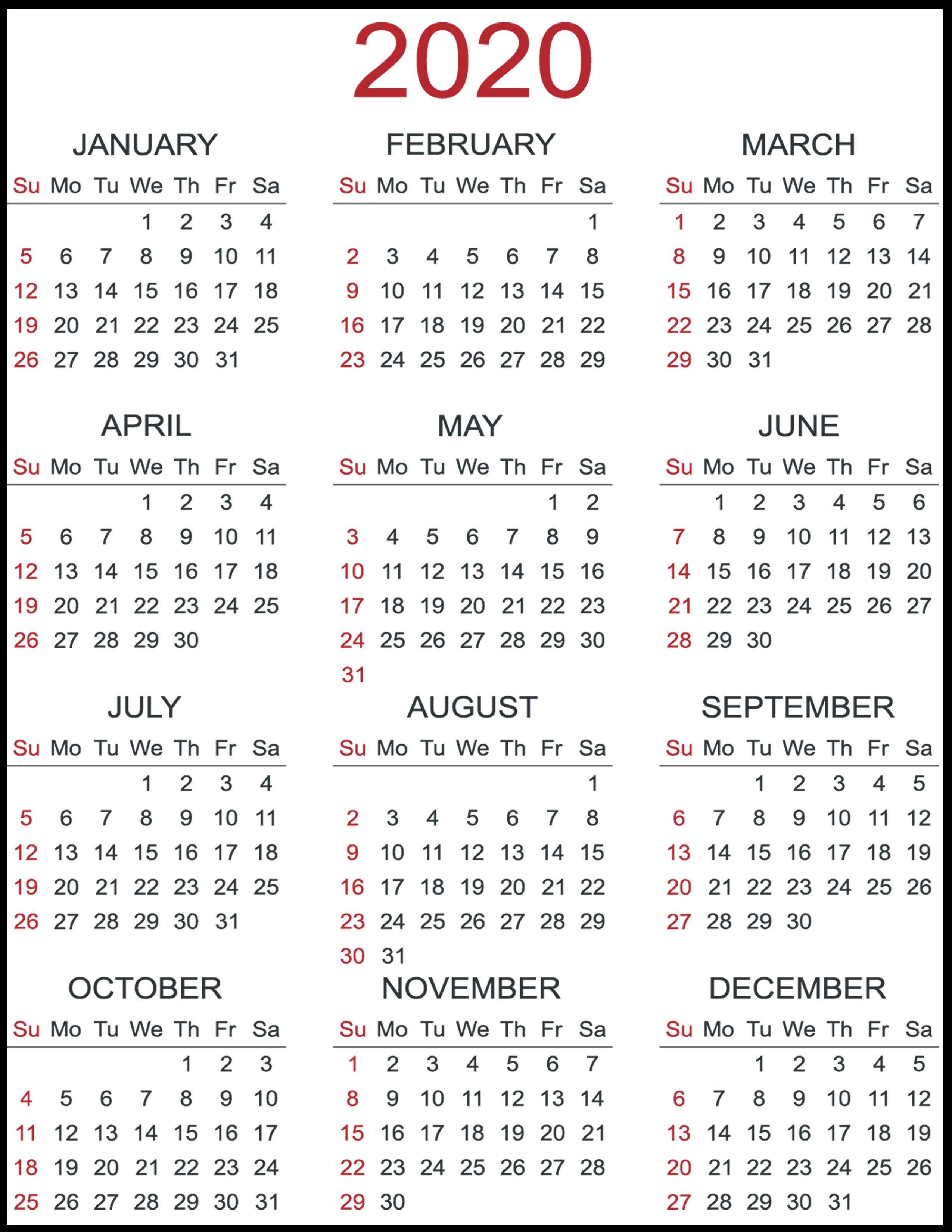 Blank Calendar 2020 Pdf - Wpa.wpart.co with regard to I-9 Form 2020 Pdf