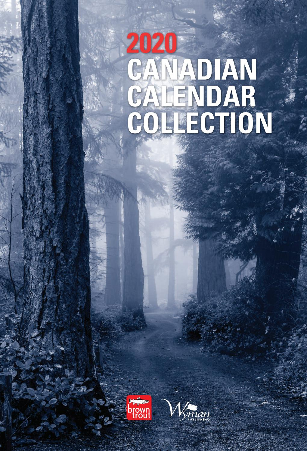Browntrout Canada 2020 Calendar Collectionmichael Brown pertaining to Yrdsb Calendar 2020