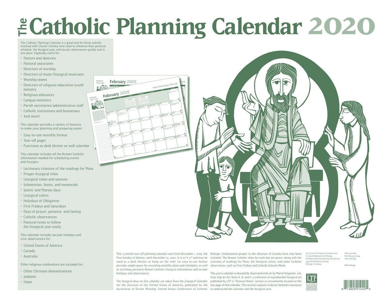 Calendar For Year 2020 United States - Wpa.wpart.co within 2020 Catholic Liturgical Calendar Activities