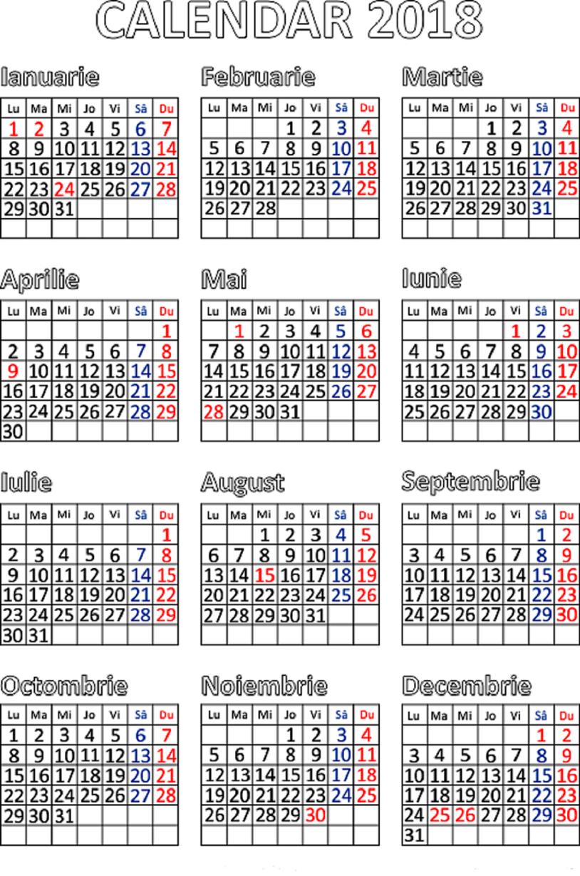 Calendar Ortodox Februarie 2019. 💐 Calendar Ortodox 2019 throughout Calendar 2020 Zile Libere