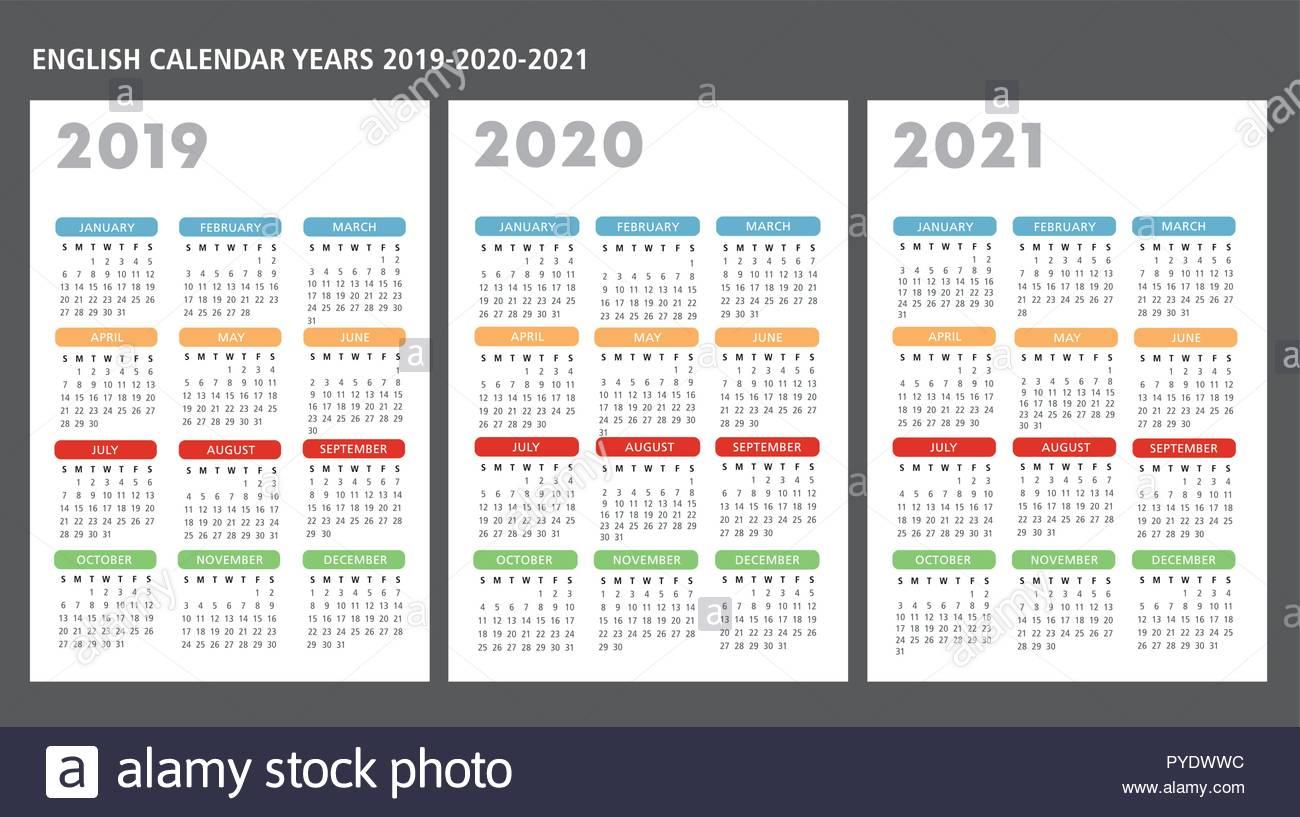 Calendario Inglese with regard to Template Calendario Escolar 2020