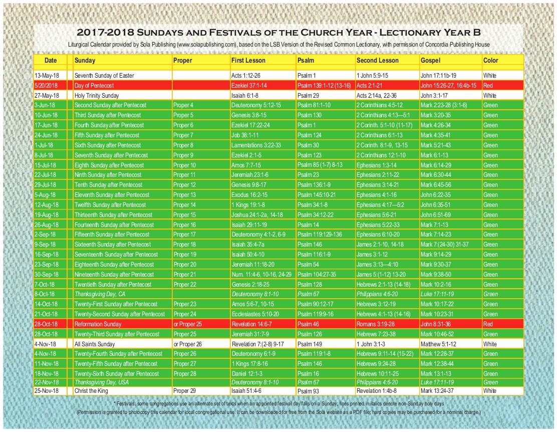 Catholic Liturgical Calendar 2020 Pdf - Calendar Inspiration inside 2020 Catholic Liturgical Calendar Pdf