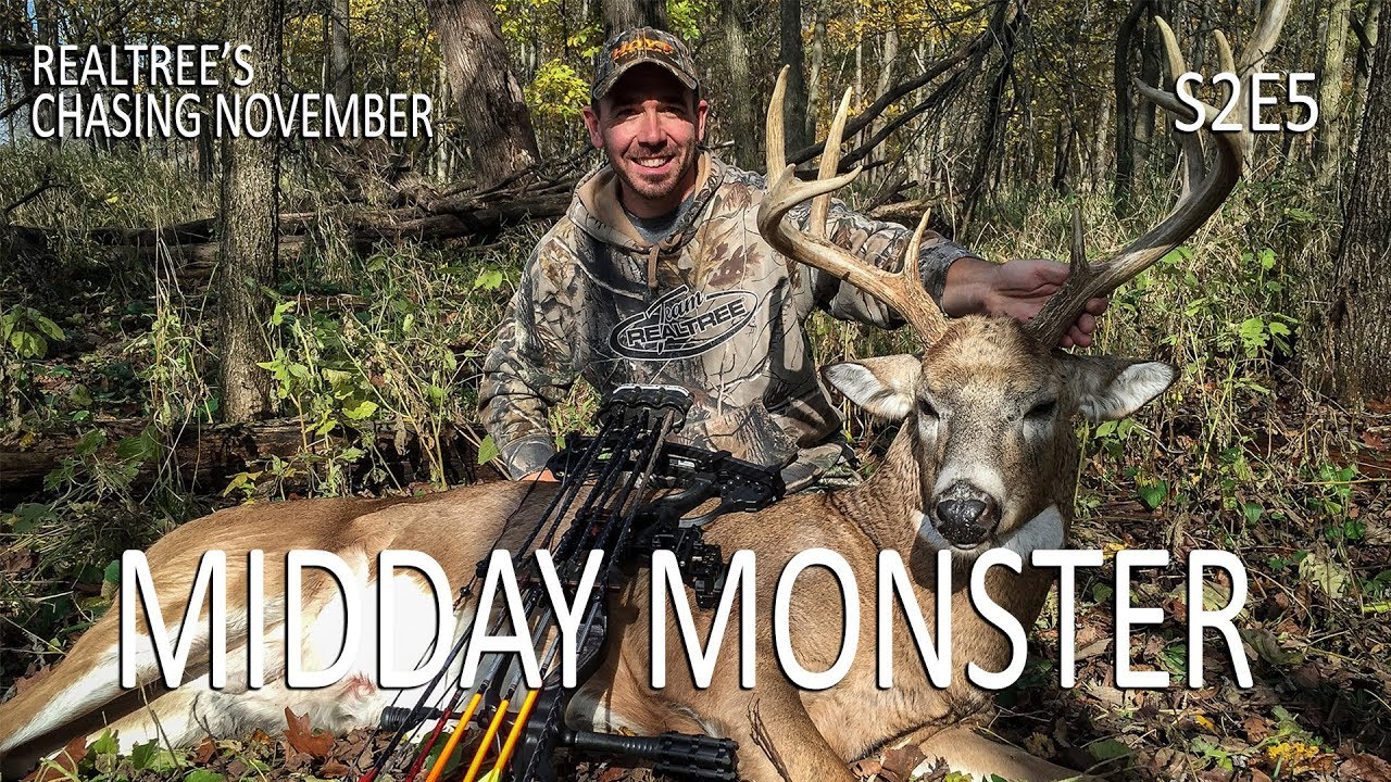 Chasing November S2E5: Midday Monsters, Illinois Rut Action with regard to Illinois Deer Rut