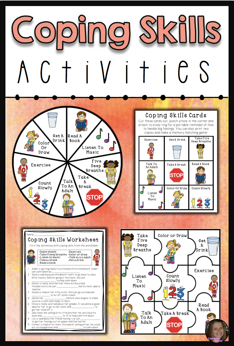 Coping Skills Activities | Coping Skills Activities, Coping throughout Printable Social Skills Fill In The Blanks
