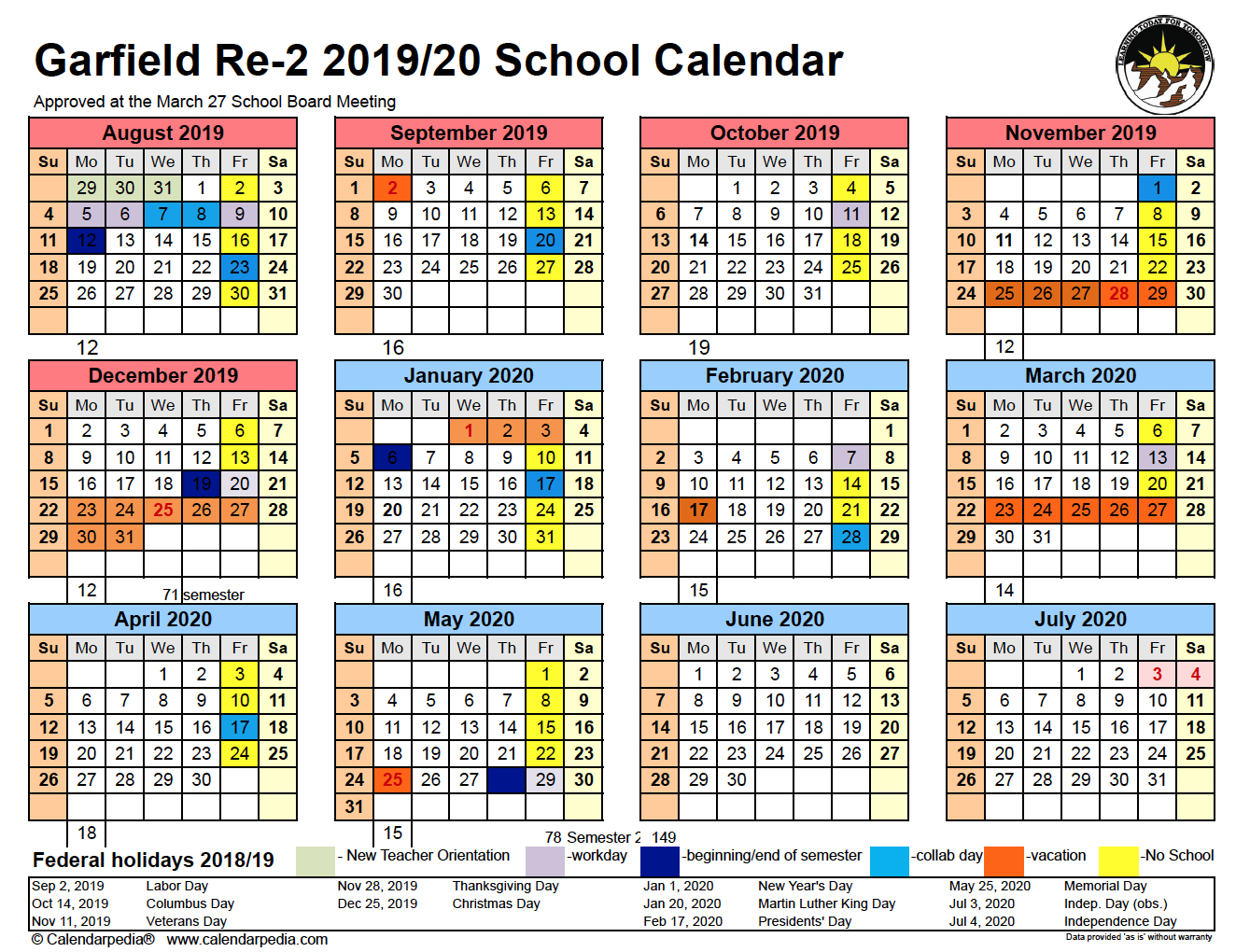 Draft 3 inside Calander 2020 We Does The School Close