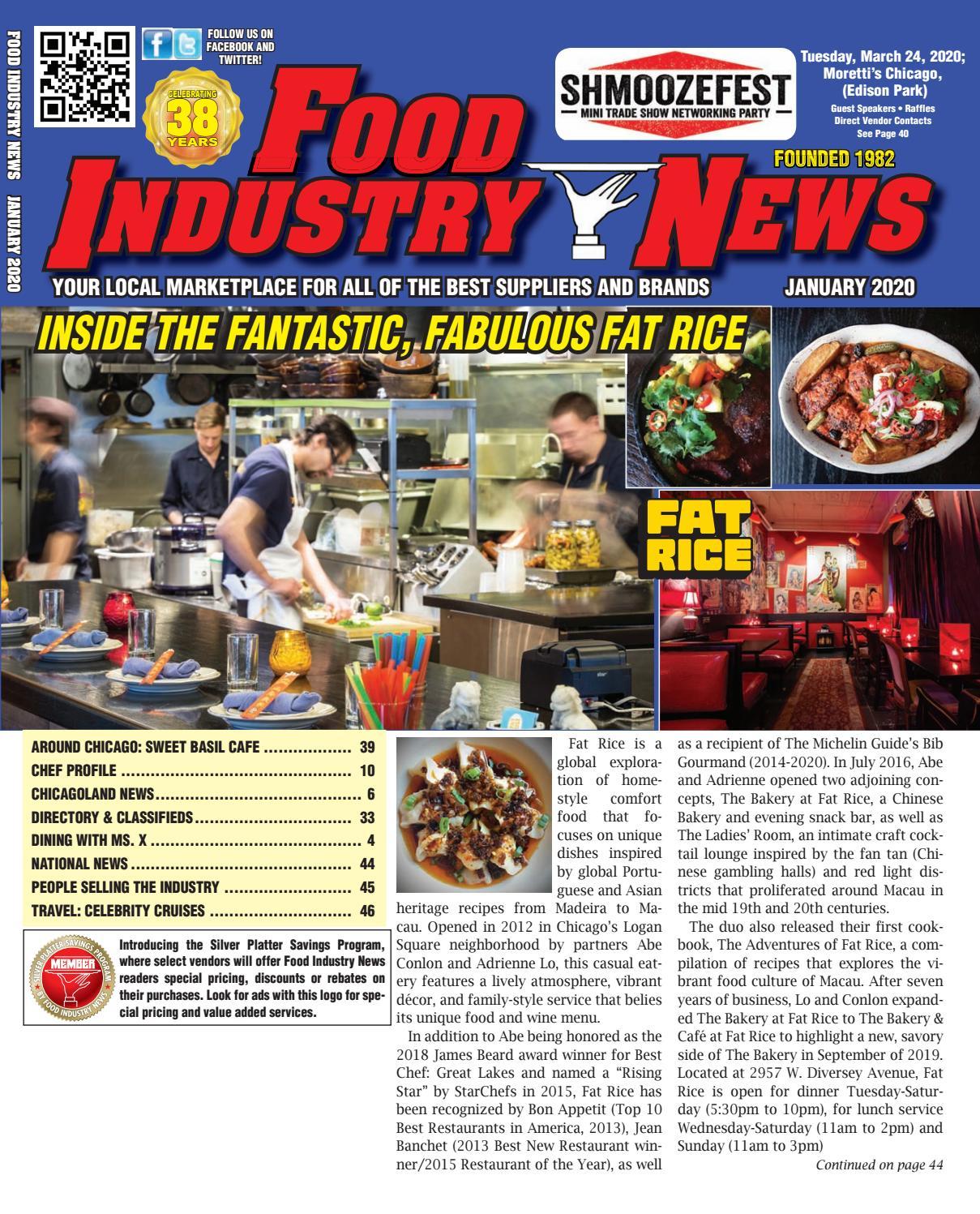 Food Industry News January 2020 Web Edition within Illinois Rut 2020