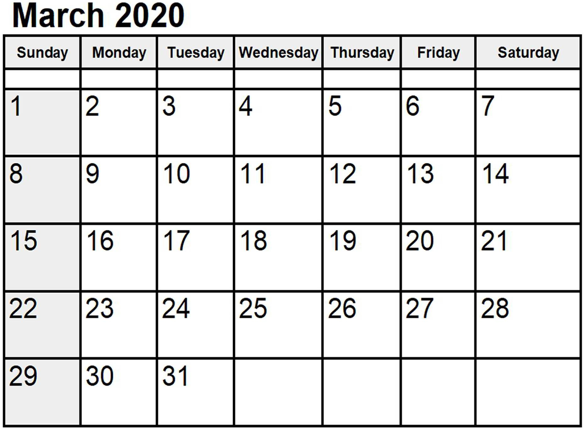 Free March 2020 Calendar Australia Template With Holidays for 2020 Calendar Australian
