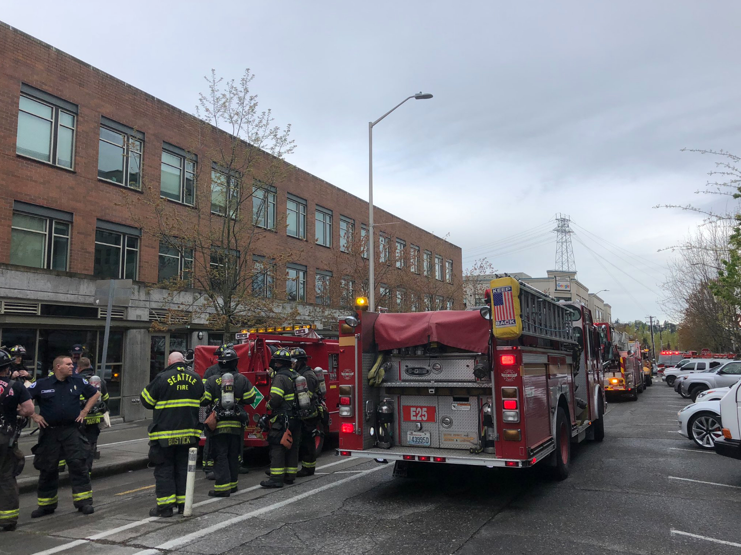 Google Seattle Building Loses Power As 'blown Breaker with regard to Fremont Firefighter Shift Calender