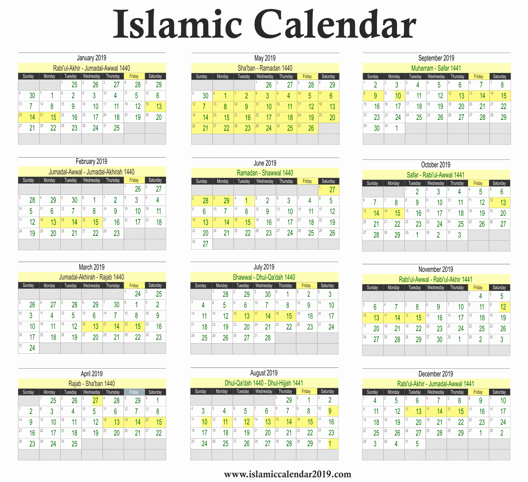 Hijri Calendar 2019 - Google Search with regard to 2020 Aramco Calendar