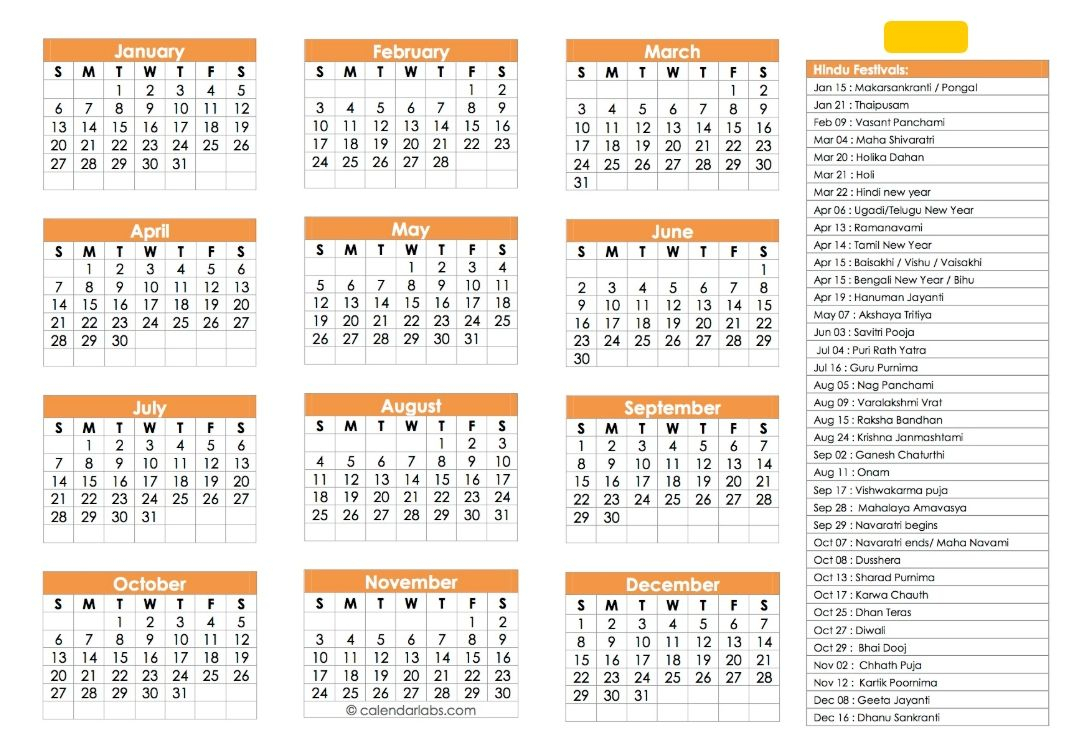 Hindu Calendar 2019 | Festivals, Tyohar, Panchang, Tithi regarding Depo Provera Calendar Printable Pdf