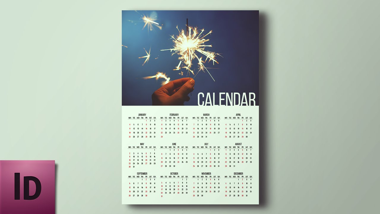 How To Create A Calendar - Indesign Tutorial with regard to Calendar Wizard 2020 Indesign