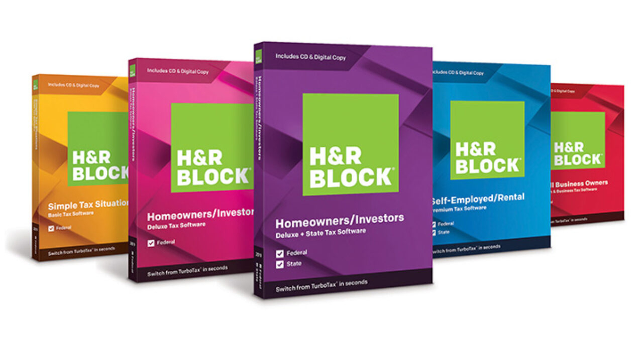 H&r Block Tax Software 2019 On Sale Now | H&r Block Newsroom throughout Tax Desk Card For 2020