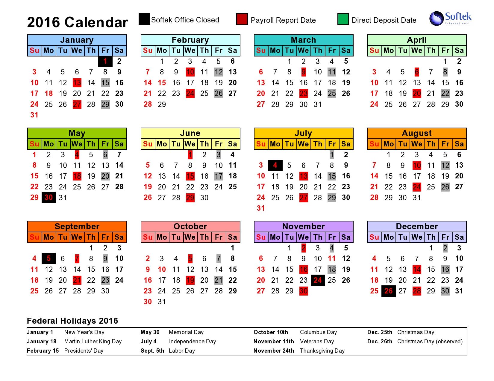 Intuit Payroll Holiday Calendar 2020 | Payroll Calendar 2020 with regard to Federal Pay Period Calendar 2020 Printable