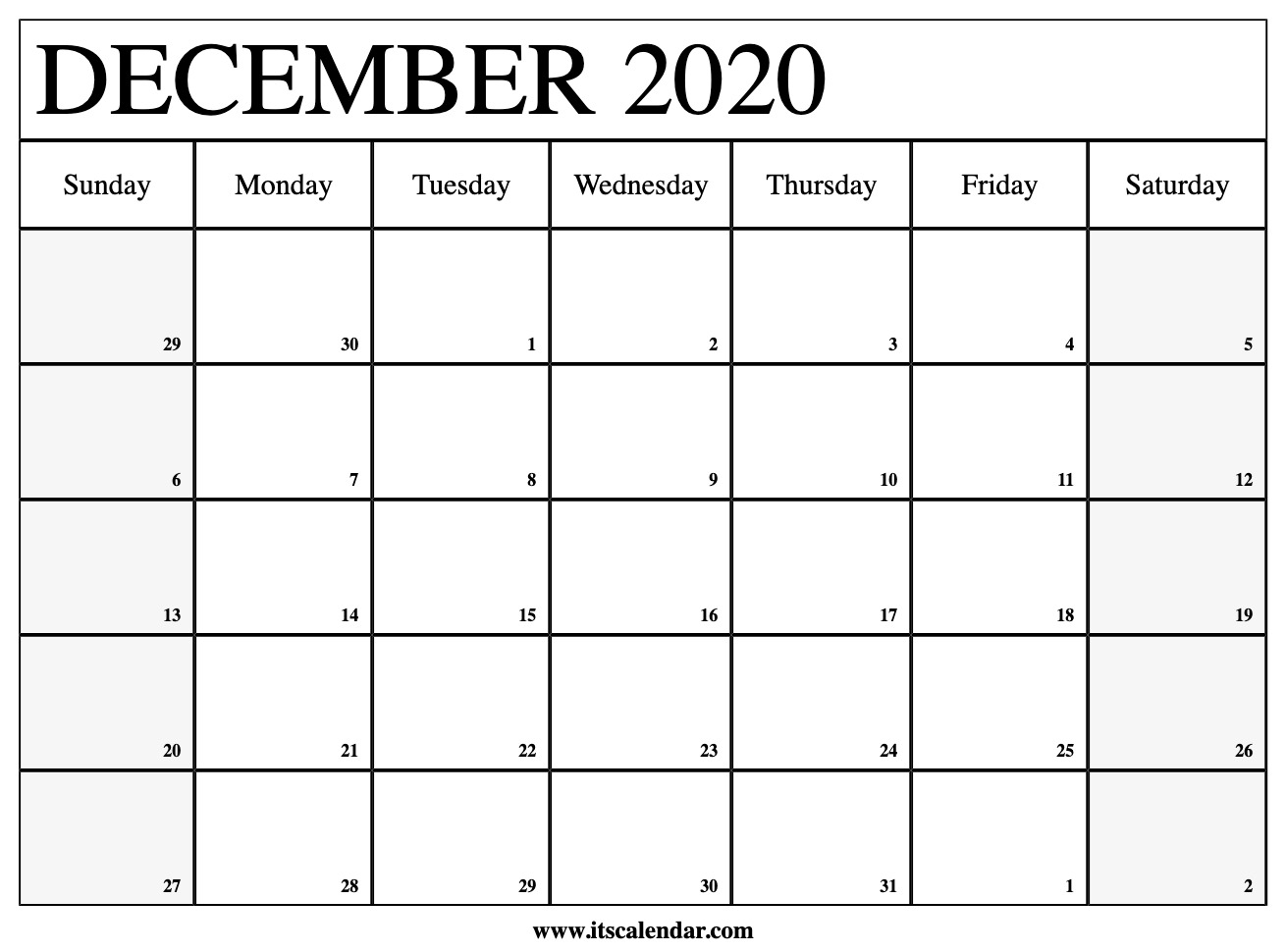 Jennasayman · Posts throughout October To December 2020 Calendar