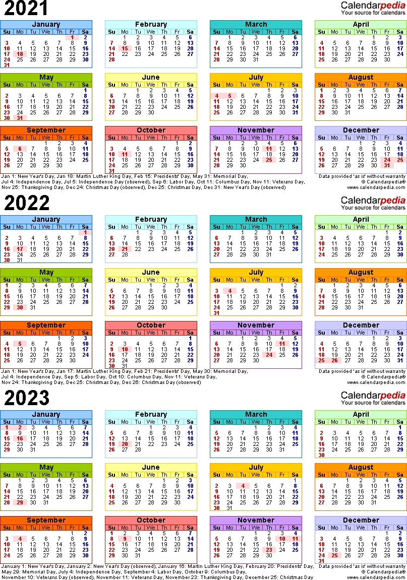 Lovely 3 Year Calendar 2022 To 2024 : Mini Calendar Template pertaining to Three Year Calendar 2020 2021 2022