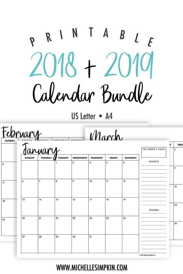 Monthly Printable Calendars 2020 Half Page - Calendar intended for Half Page 2020 Calender