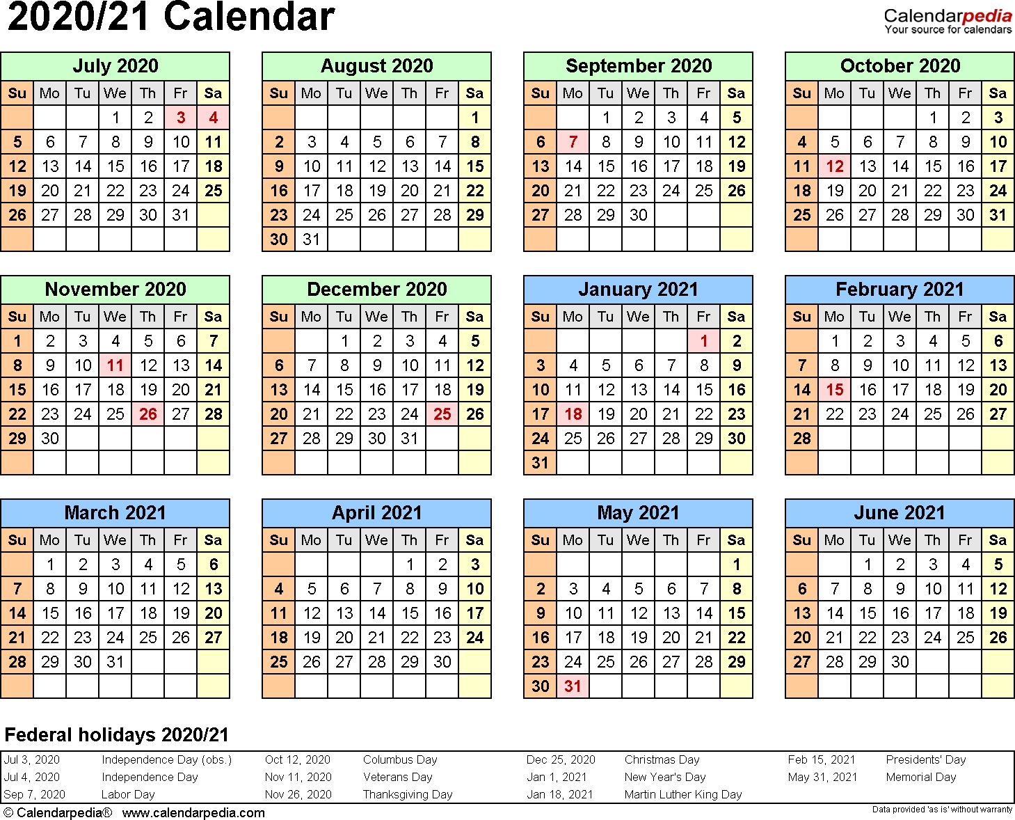 Monthly Printable Calendars 2020 Half Page - Calendar throughout Half Page 2020 Calender
