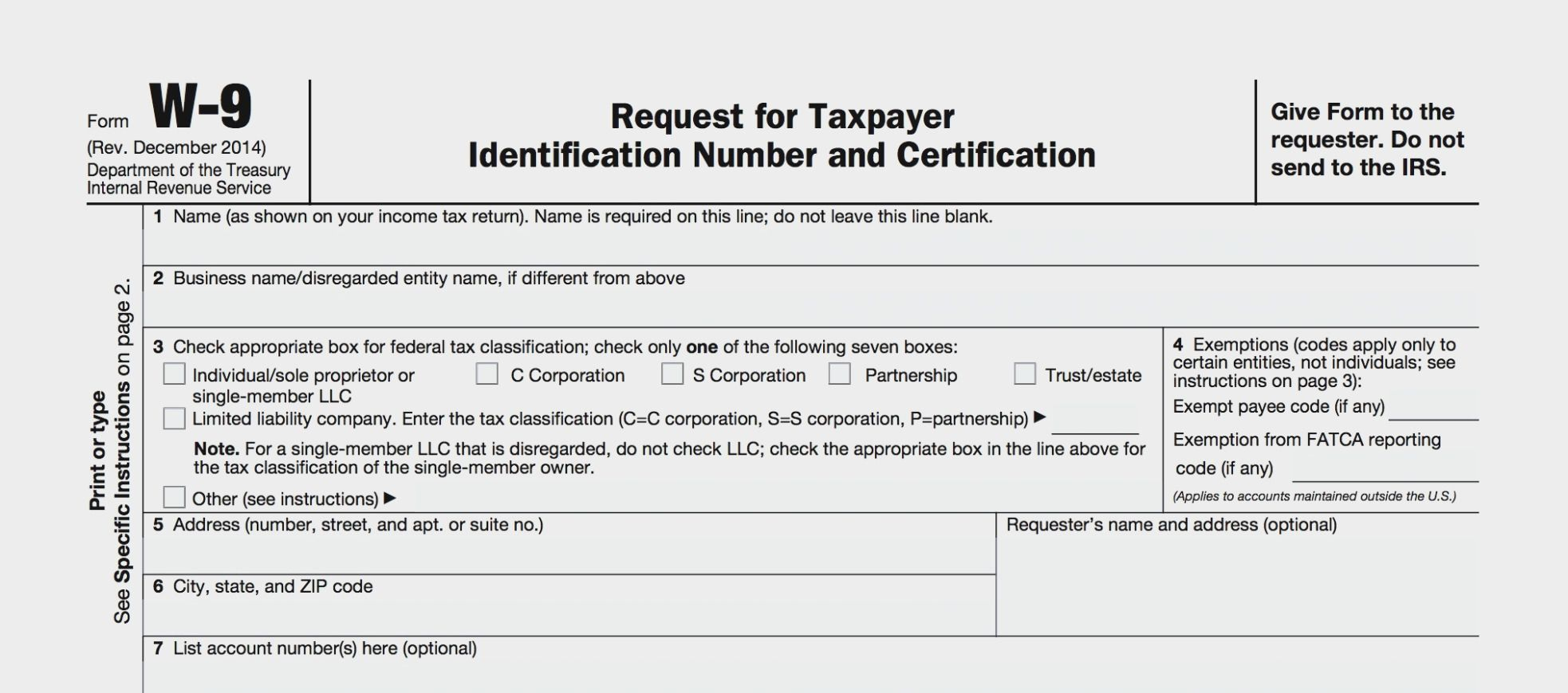 Pinmelisa Feller On Documents | A Formal Letter, Irs with regard to Blank W 9 Printable Form Template