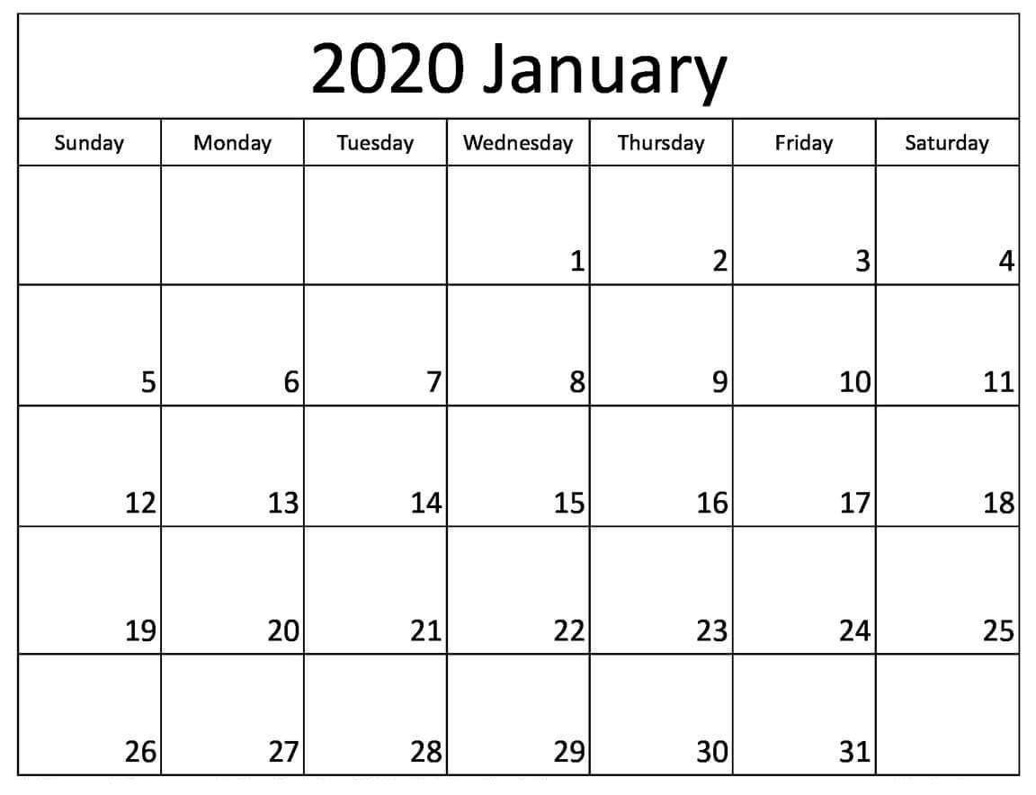 Printable January 2020 Calendar Australia With Holidays with regard to 2020 Calendar Australian