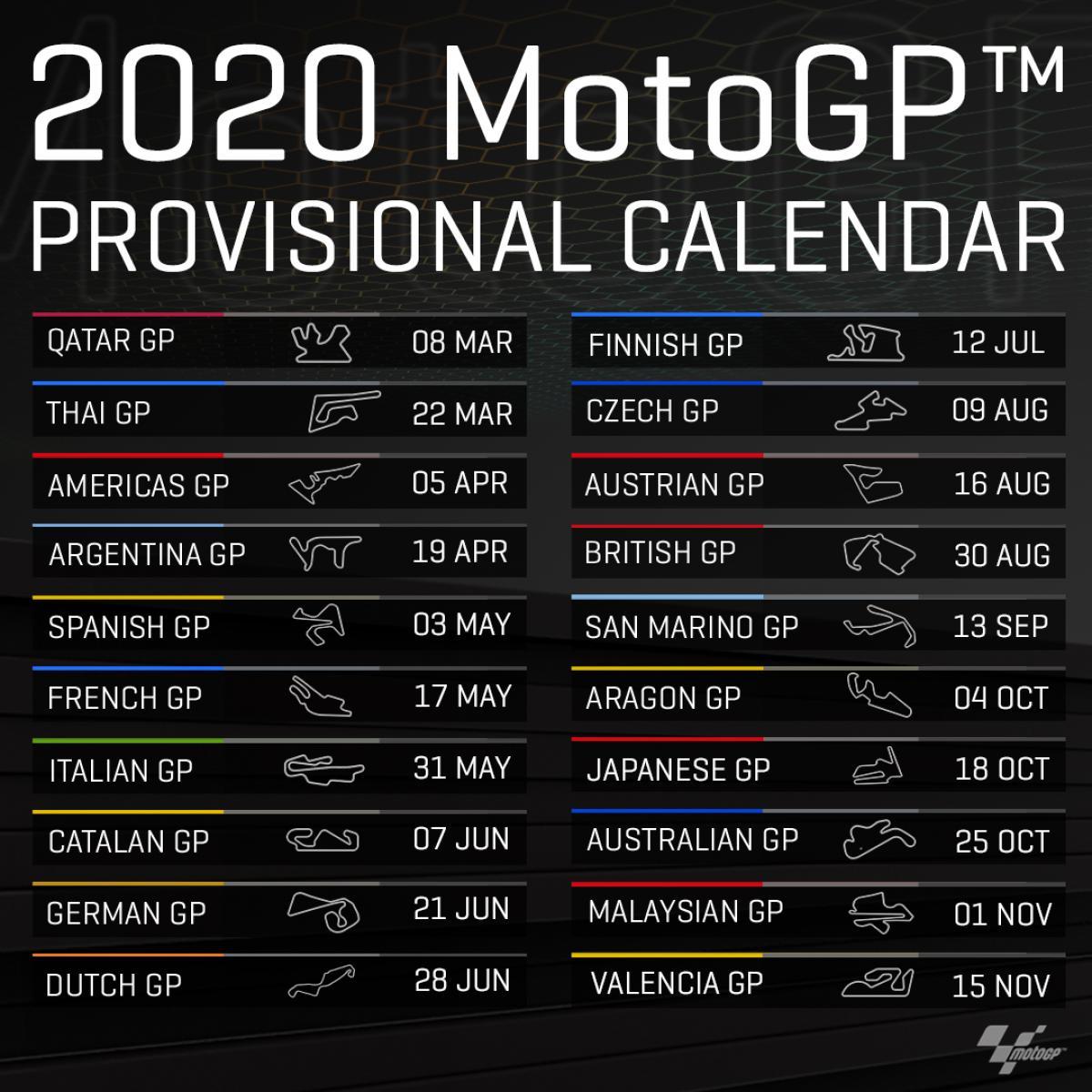 Provisional Calendar 2020 | Calcrutchlow35.nl with Calendar 2020 Nl