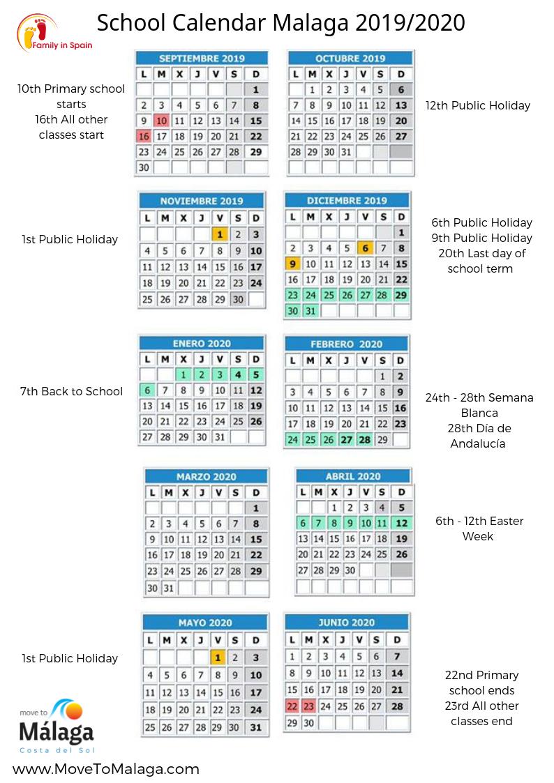 Retail Marketing Calendar Template For Excel (2019-2020-2021 pertaining to Template Calendario Escolar 2020