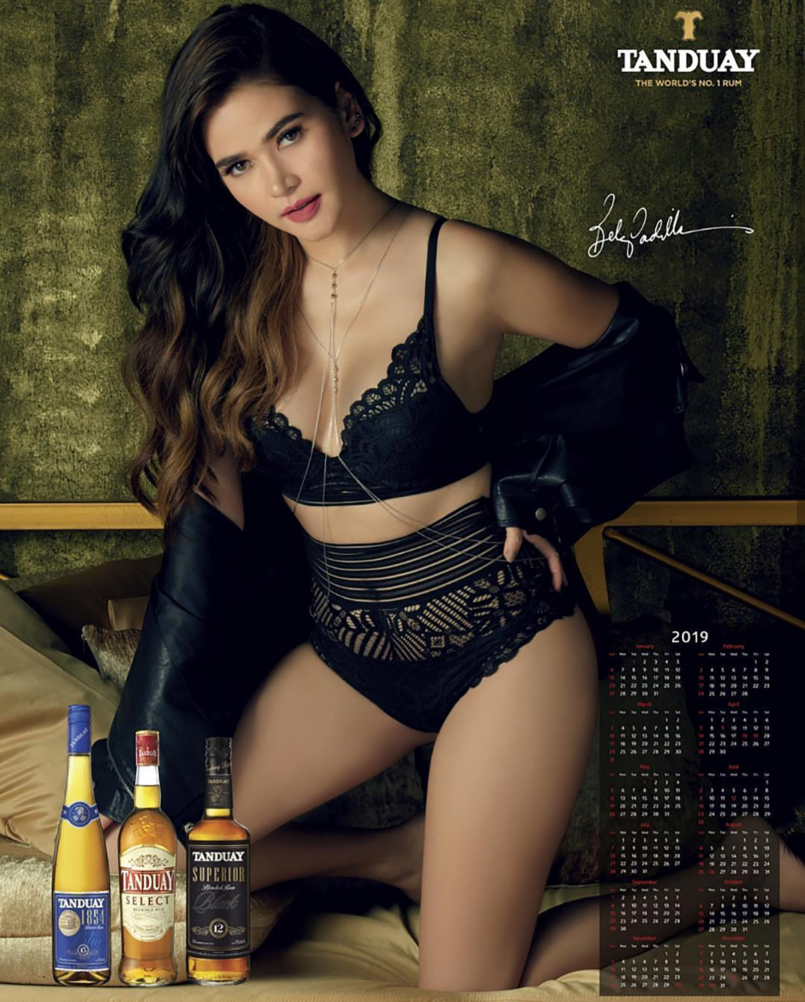 The Tanduay Calendar Girls From 2010-2020 Ranked!   Ao: All Out throughout Tanduay Calendar 2020