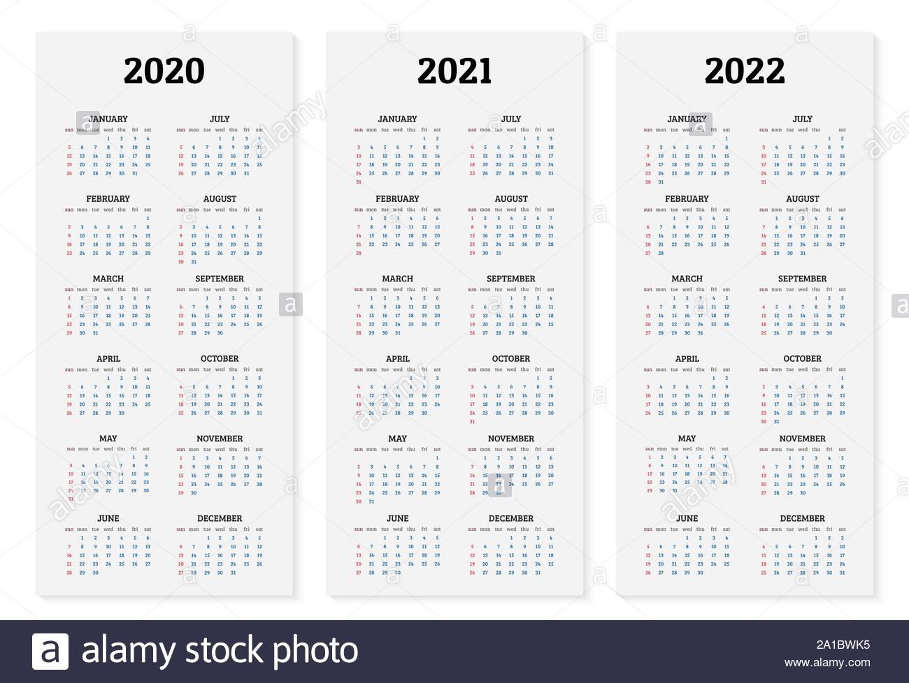 Year 2022 Vector Vectors Stock Photos & Year 2022 Vector in Free Printable Calendar 2020-2022