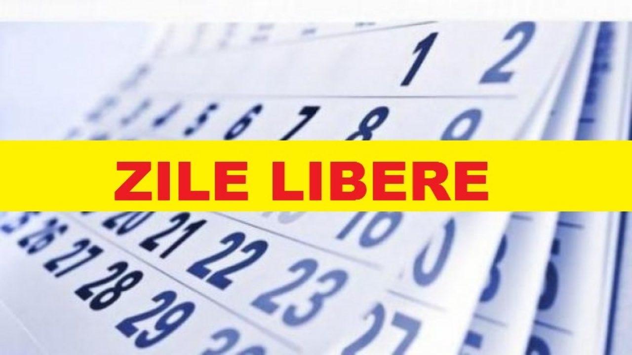 Zile Libere 2020. Câte Minivacanțe Ar Putea Avea Românii within Calendar 2020 Zile Libere