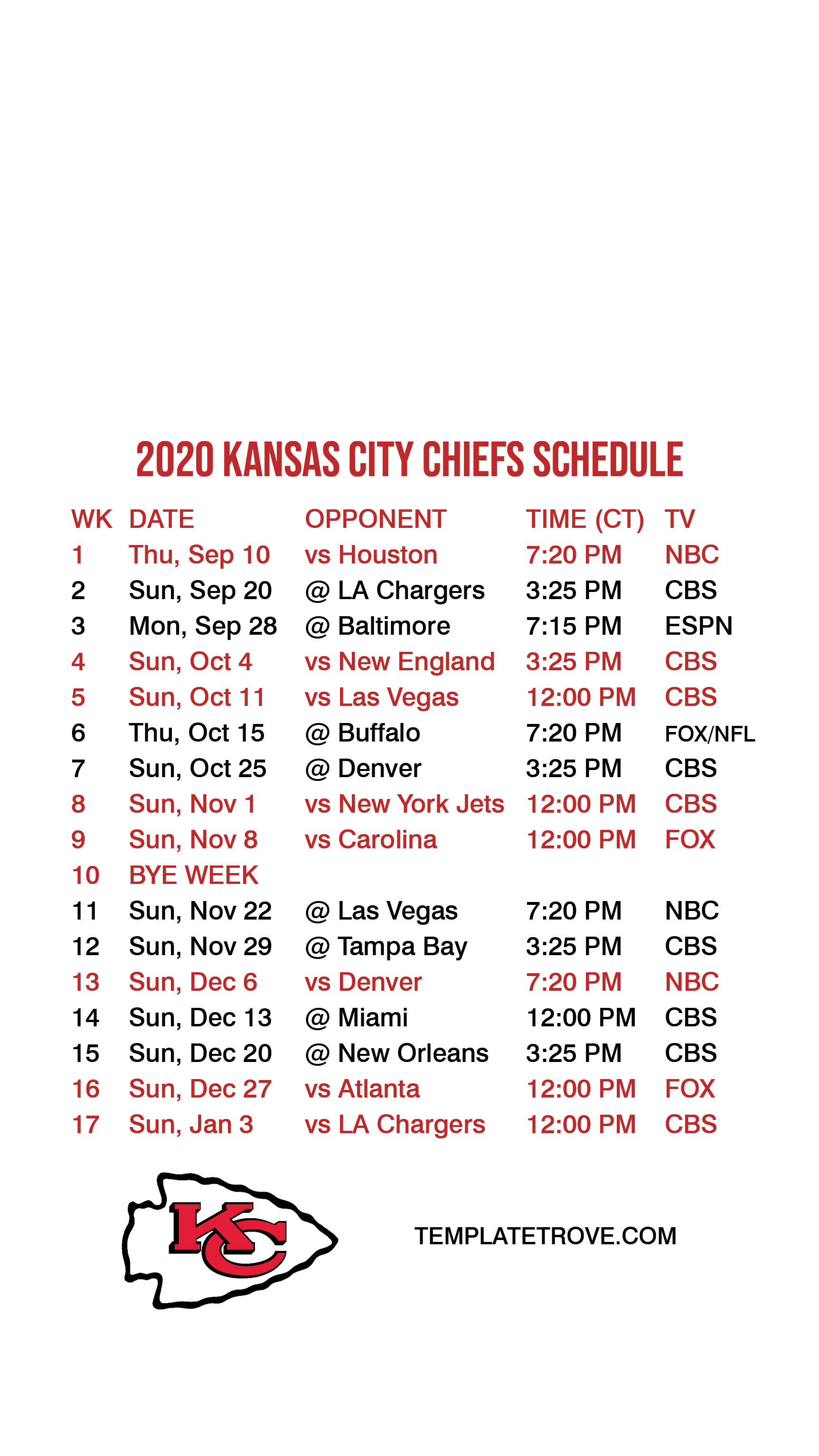 2020-2021 Kansas City Chiefs Lock Screen Schedule For Iphone with regard to Printable Nfl Schedule For 2020 2021