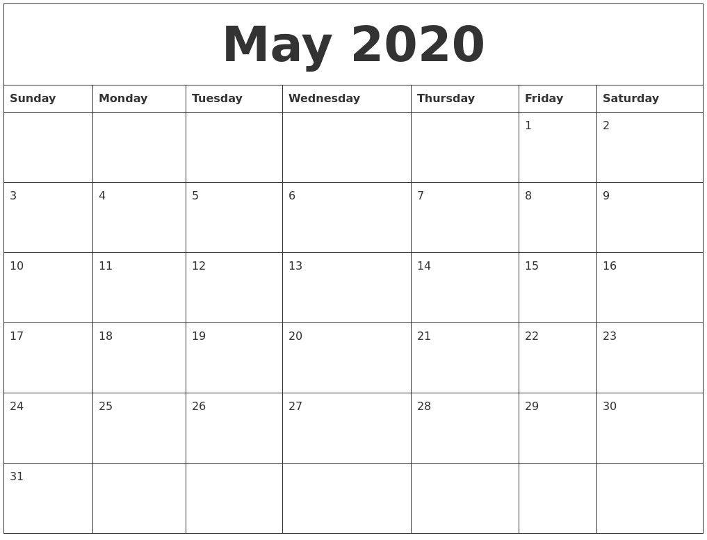2020 Calendar Autos Post Custom Editable 2020 Free Printable for Free Editable 2020 Calendars