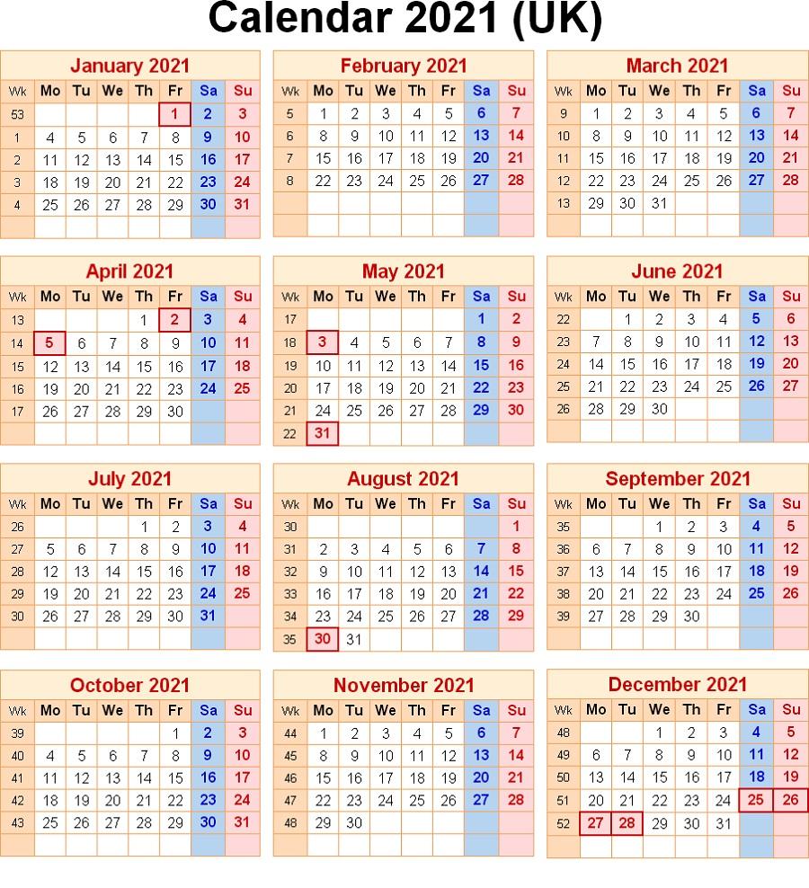 2021 Calendar With Week Numbers Excel Full | Calendar Shelter inside Yearly Week Number Calendar Excel