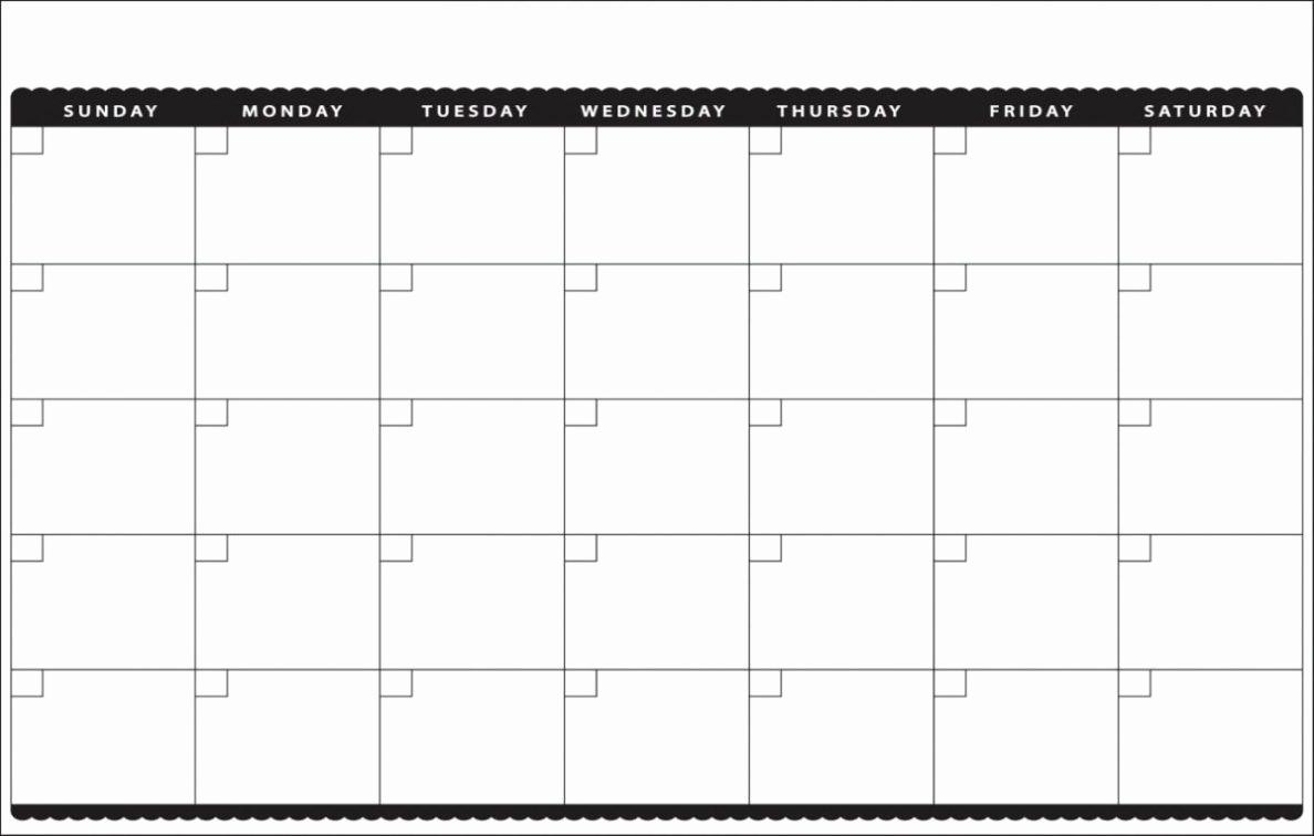 32 Helpful Blank Monthly Calendars | Kittybabylove regarding Sunday Thru Saturday Blank Calendar