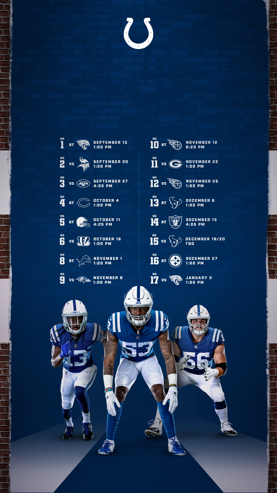 Colts Schedule | Indianapolis Colts - Colts with regard to Printable Nfl Schedule For 2020 2021