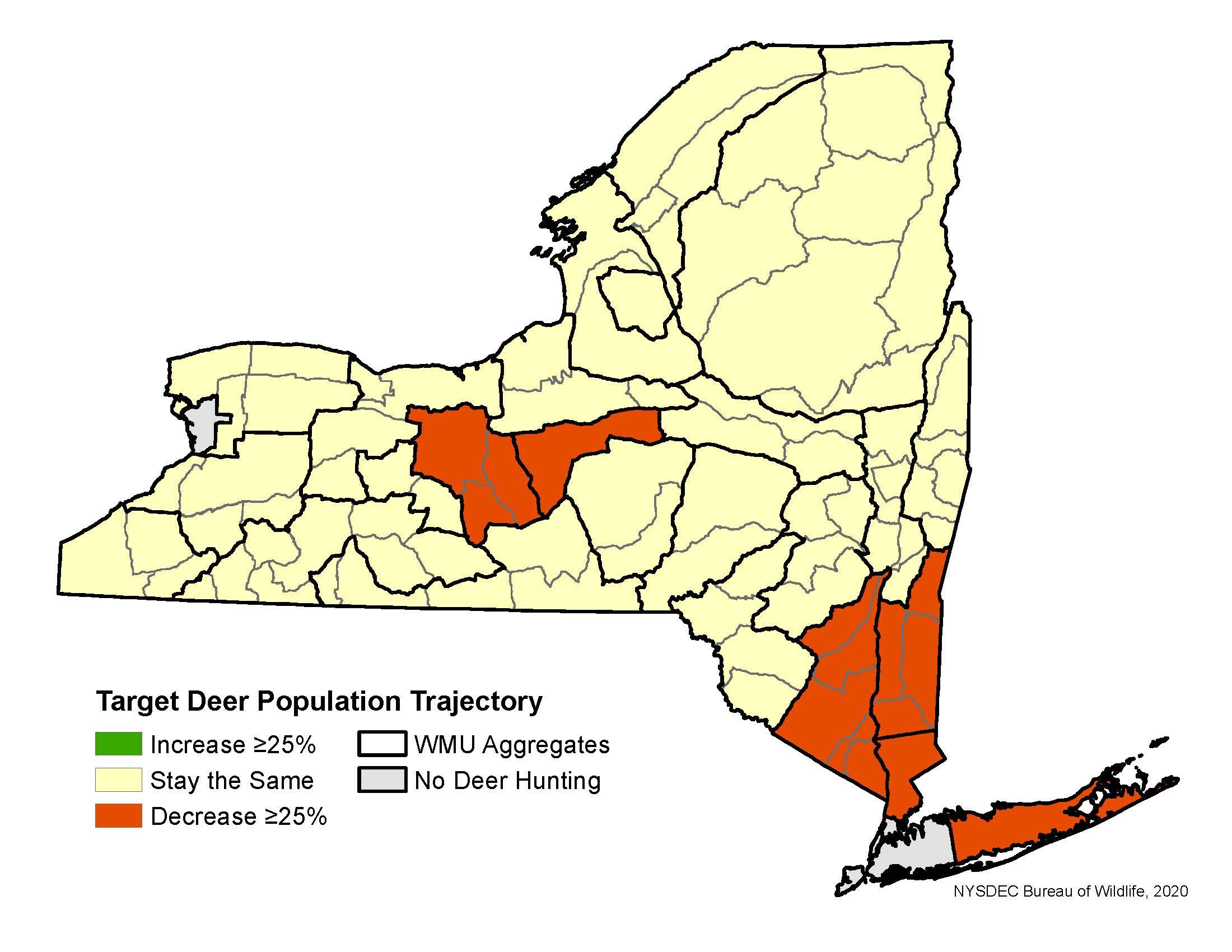 Deer Hunting Season Forecasts - Nys Dept. Of Environmental within Whitetail Rut Calendar 2020