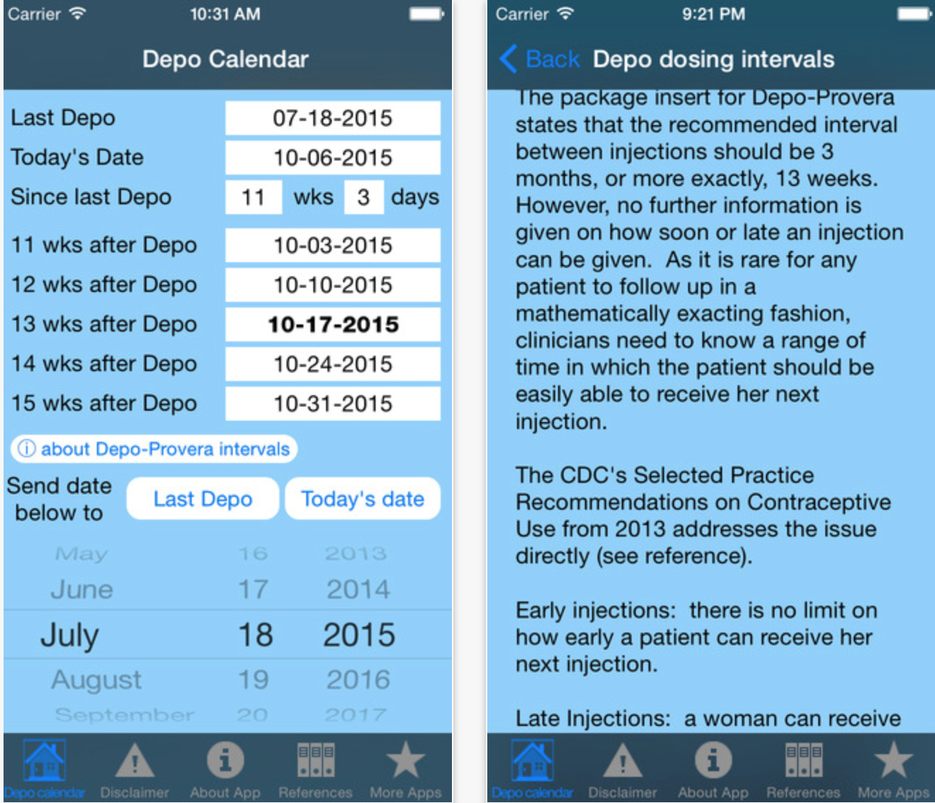 Depo Calendar App Could Significantly Improve Contraception with regard to Depo Schedule For 2020
