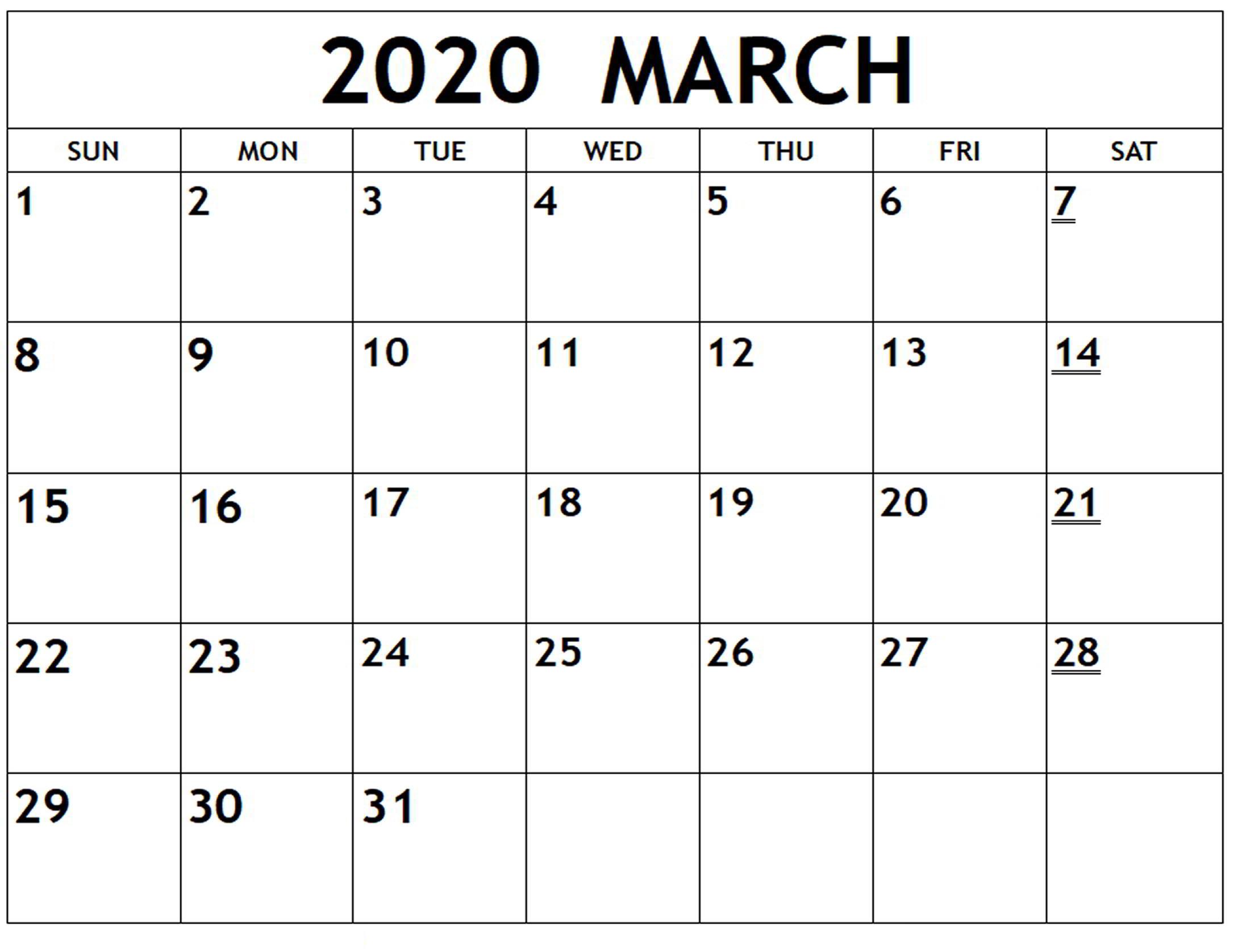 Desk Calendar 2020 2020 Wall Calendar Monthly Calendars regarding Free Fill In Calendars 2020