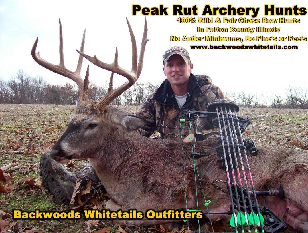 Illinois Peak Rut Bowhunting - Whitetail Deer Hunting Outfitters with Illinois Deer Rut Prediction For 2020