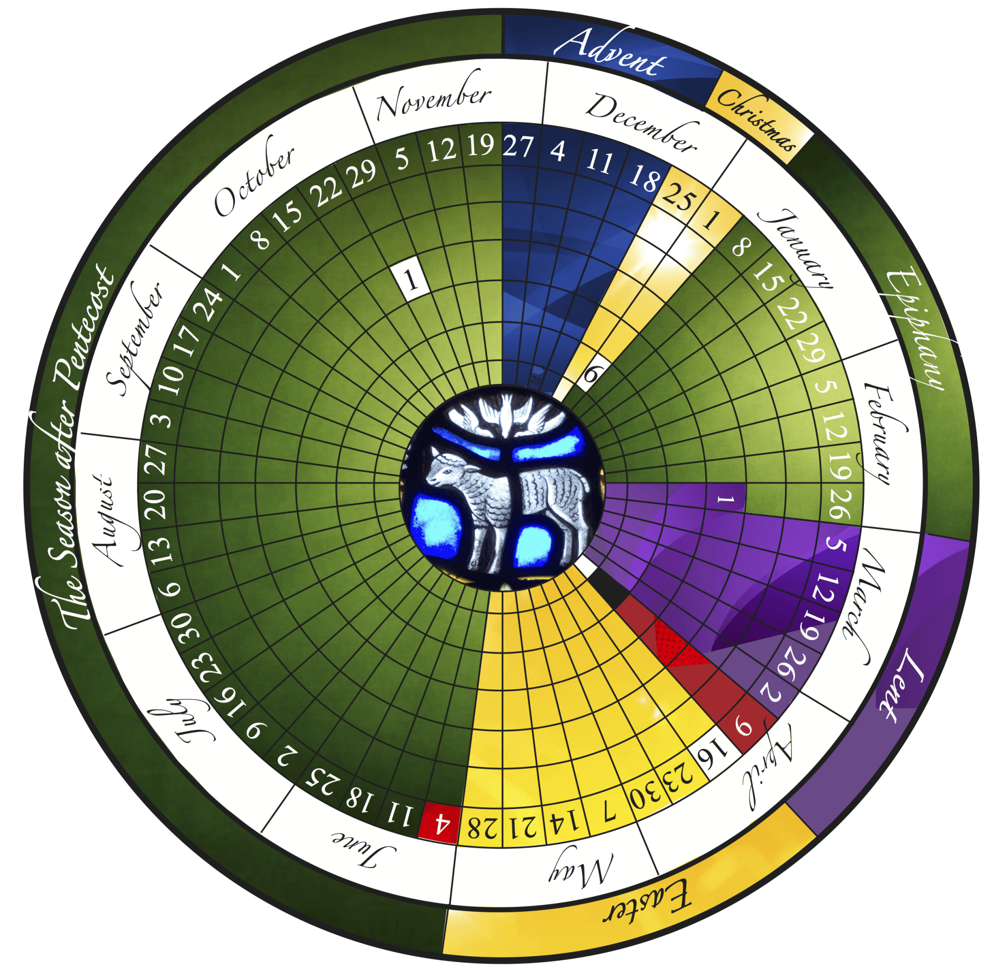 The Liturgical Year Explained (Plus Free Printable Calendar!) within Printable Monthly Liiturgical Calendar 2020