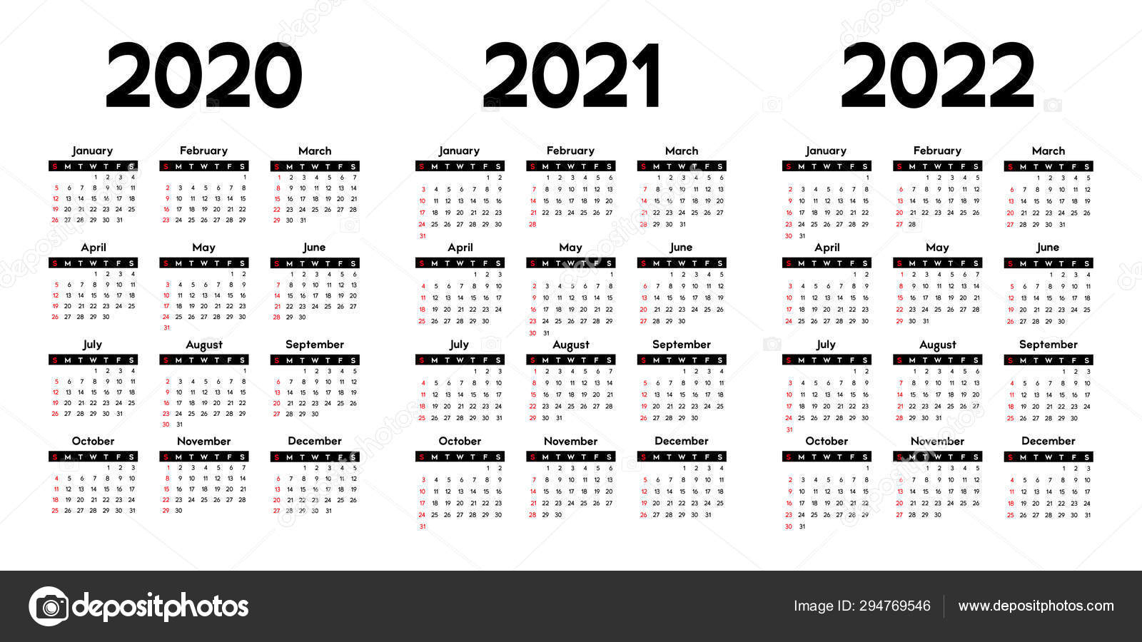 Tips Bermain Slot Online Lengkap inside Three Year Printable Calendar 2020 To 2023